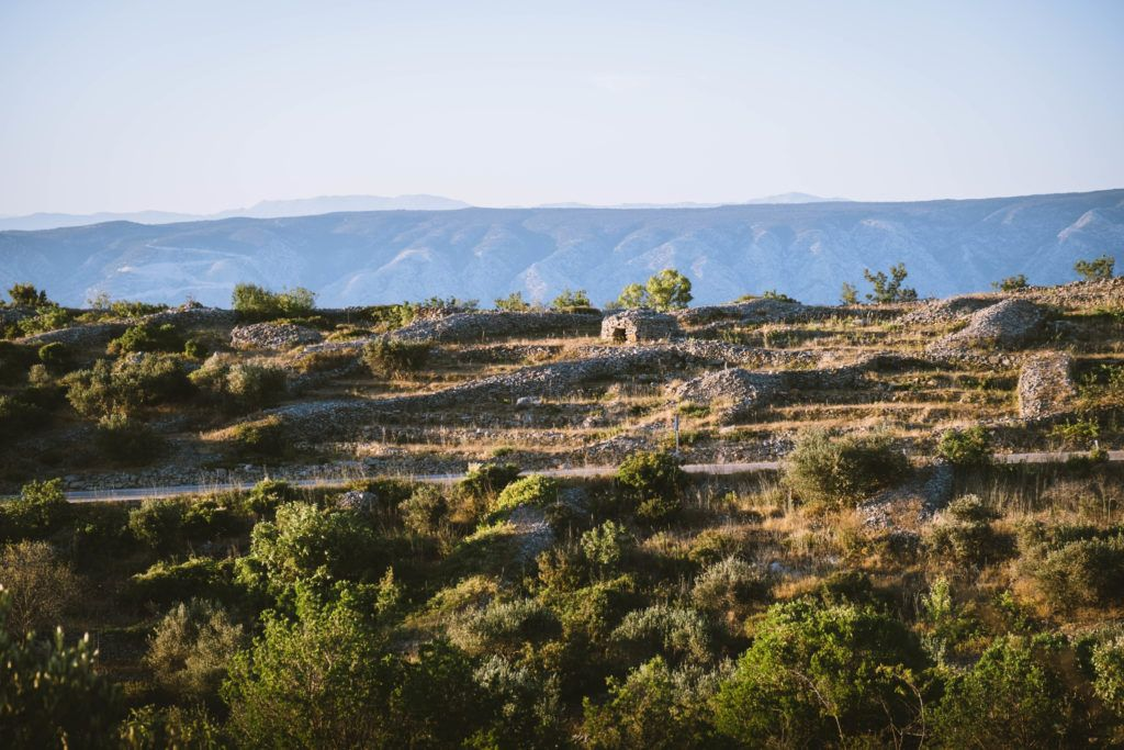 dry stone walls tradition of hvar