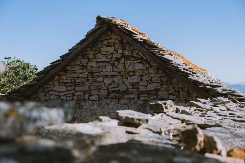 stone ancient houses hvar