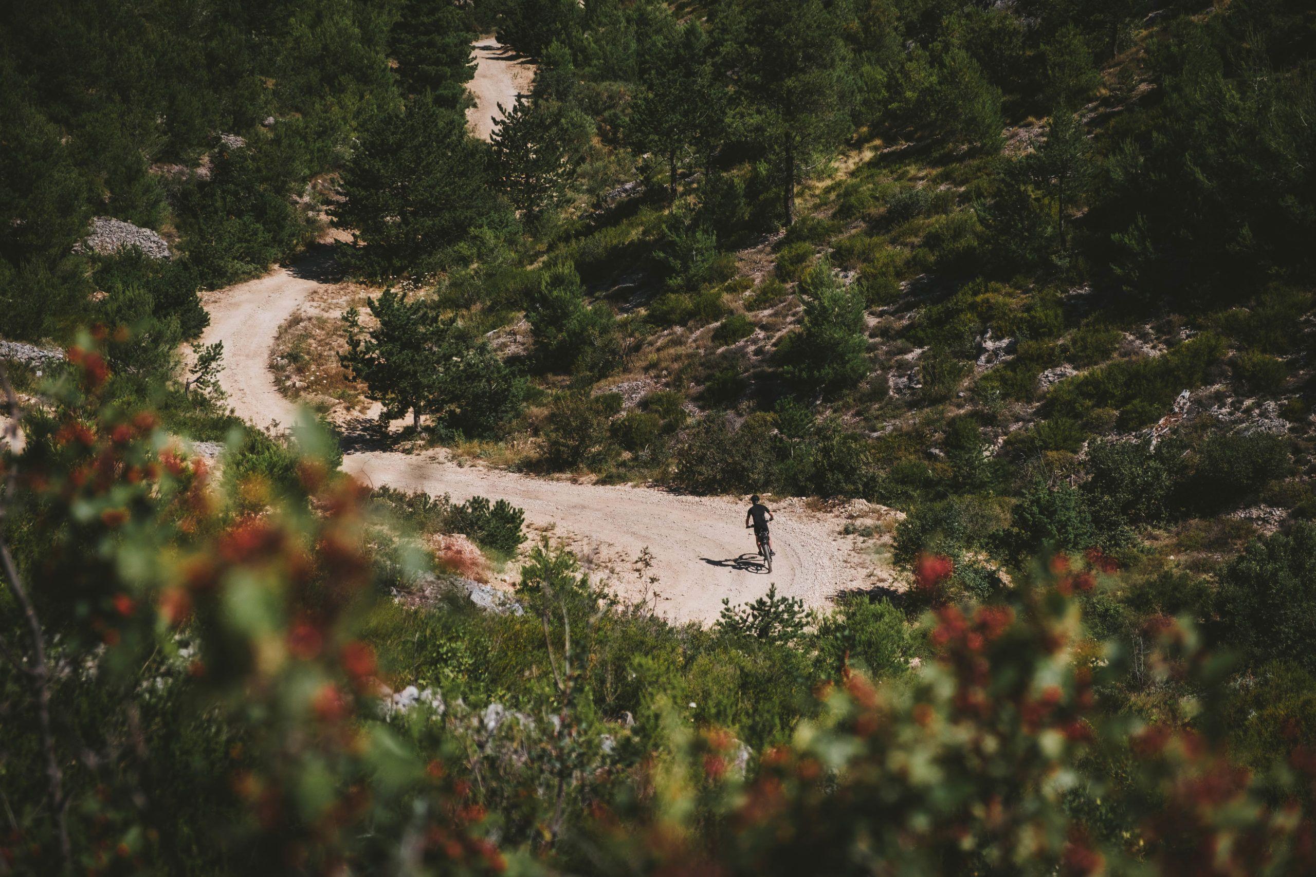 Hvar mountain cycling